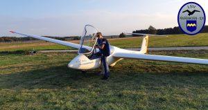 14. Jähriger absolviert ersten Alleinflug