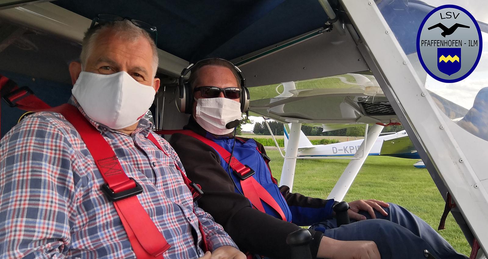 Ein Gastflug im Ultraleichtflugzeug