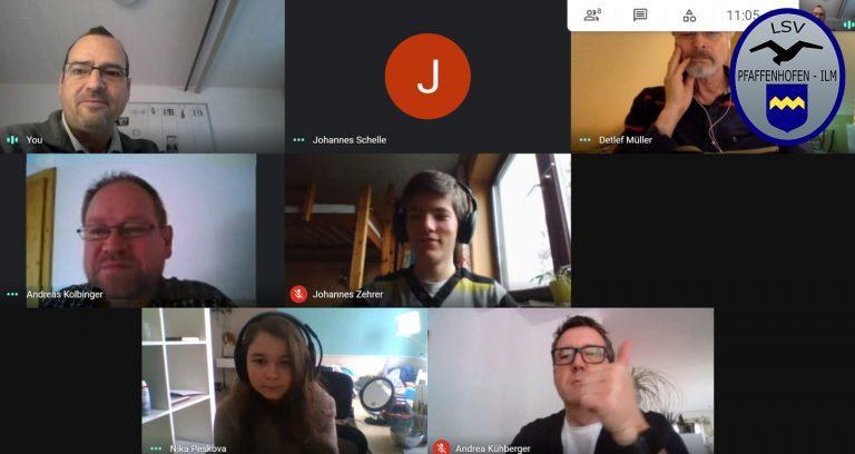 Videokonferenz für den Digitalen Theoreiunterricht